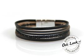 Chique armband Carry, zwart