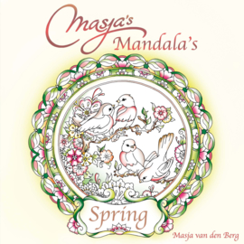 Kleurboek Masja's Mandala's Spring