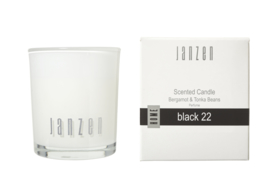 Scented Candle black 22, JANZEN