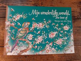 Kleurboek Mijn wonderlijke wereld, best of Masja van den Berg