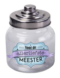 Snoeppot Meester