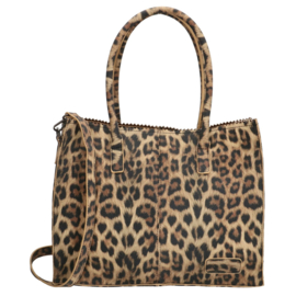 Shopper Lisa luipaard, ZEBRA