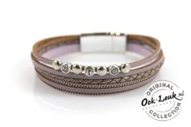 Luxe armband lila