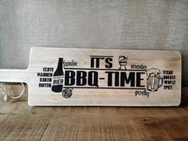 Steigerhouten serveerplank BBQ-TIME