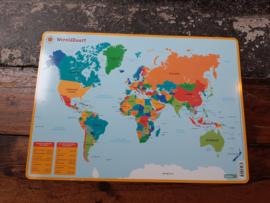 Placemat Wereldkaart