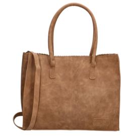 Shopper Lisa camel, ZEBRA
