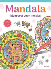 Mandala kleurpret voor meisjes