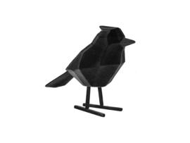Statue bird flocked large, Present Time