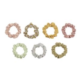 8-delige set scrunchies, Mimi & Lula