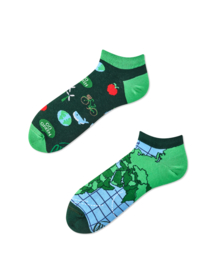 Save the planet sokken, sneaker