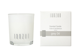 Scented Candle grey 04, JANZEN