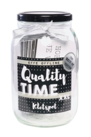 Quality time kletspot