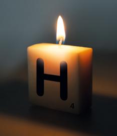 Letterkaarsje H