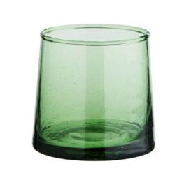 Marokkaans drinkglas Beldi groen
