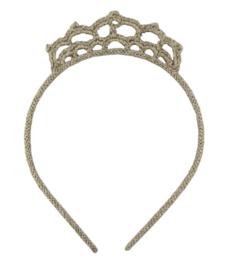 Gehaakte haarband kroon zilver, Global Affairs