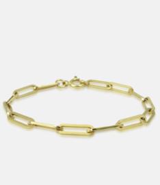 Link chain bracelet, medium version.