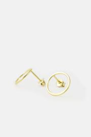Large circle earrings, Studio MHL