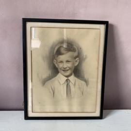 Portret; Kleine jongen.
