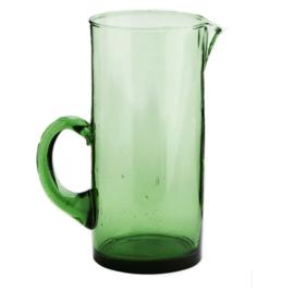 Marokkaans Beldi glazen kan groen