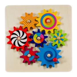 Tandrad puzzel spel