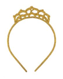 Gehaakte haarband kroon goud, Global Affairs