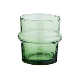 Marokkaans glaasje Beldi groen