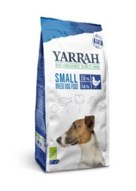Yarrah Biologische Hondenbrokken Kleine Rassen Biokip en MSC-vis