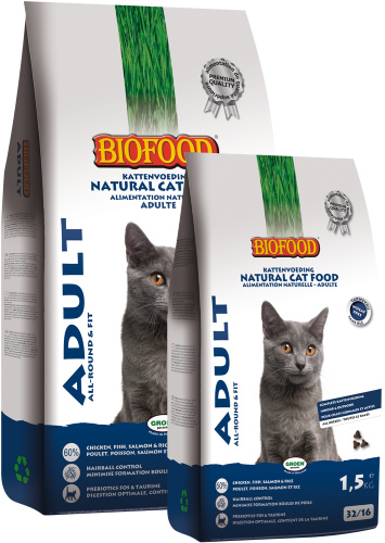 Biofood | Kattenbrokken Adult | 1,5kg