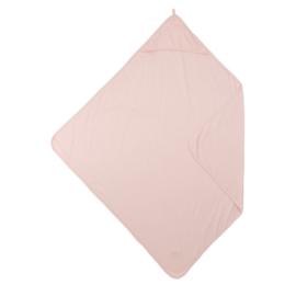 Meyco Baby Badcape Basic Jersey - Lichtroze