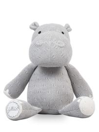 Jollein Knuffel Soft knit hippo grey