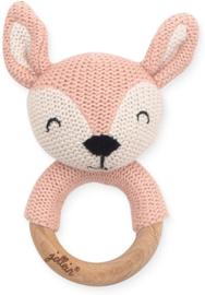Jollein Bijtring Ø 7cm Deer pale pink