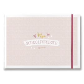 Maan Amsterdam Mijn Schoolfotoboek (roze)