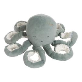 Little Dutch Octopus knuffel groen