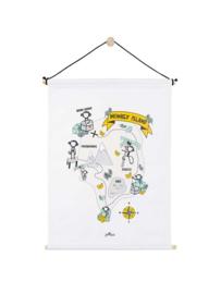 Jollein poster 42x60 cm Monkey island
