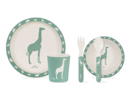 Jollein Dinerset Safari forest green