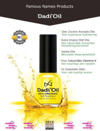 Dadi' Oil  72 ml pipet incluis