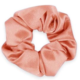 Scrunchie Silky flirty flamingo rose