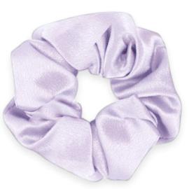 Scrunchies haarelastiek silky Sheer lilac purple