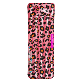 Luxe luchtbed Panterprint Rose goud