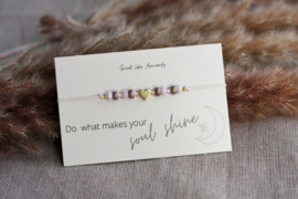 Armbandje Pastel Love