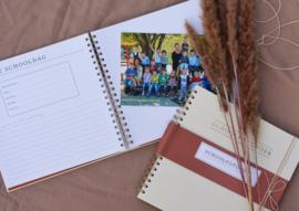 School fotoboek linnen