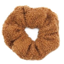 Scrunchie teddy bruin