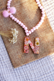 CELEBRATE LIFE Rose gold 'letters'
