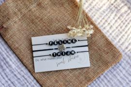 Armband setje 'good luck'