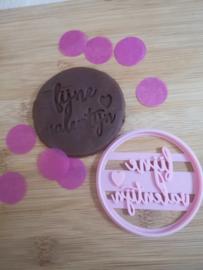 Fijne valentijn - koeksteker