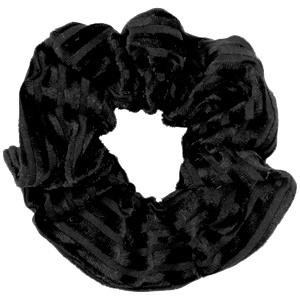 Scrunchies haarelastiek velvet Black