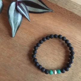 Amazoniet turquoise armband 6mm