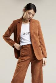 jacket Lanelle kleur cognac