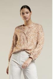 blouse Beau kleur cognac