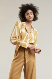 blouse Laurel kleur mosterd